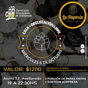 CATA GUIADA DE CERVEZA ARTESANAL ENLA PAPERIA